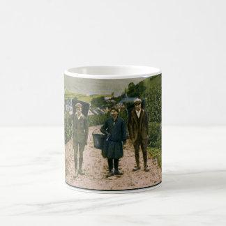 1900 Mosel wine harvest Schengen Luxembourg Coffee Mug