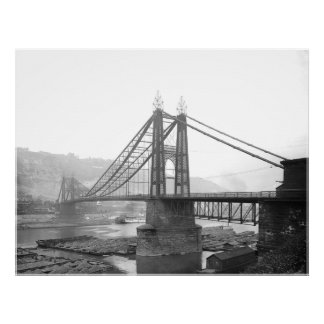 1900 Pointe Bridge Pittsburgh Pa. Print