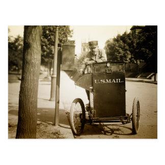 1900s Mail Man Postcard