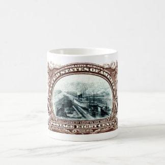 1901 Canal Locks Michigan Coffee Mug