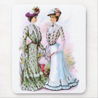 1901 Vintage Dresses Mouse Pad