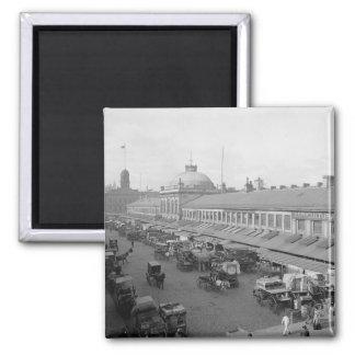 1904 Quincy Market Boston Magnet