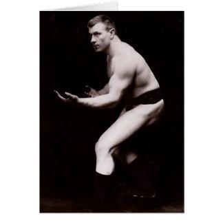 1904 Vintage Wrestler Card