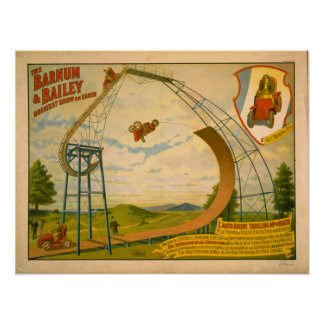 1905 Barnum And Bailey Circus Poster