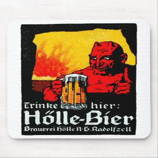 1905 German Beer Poster Mousepad
