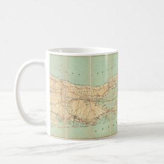 1905 Long Island Map Mug