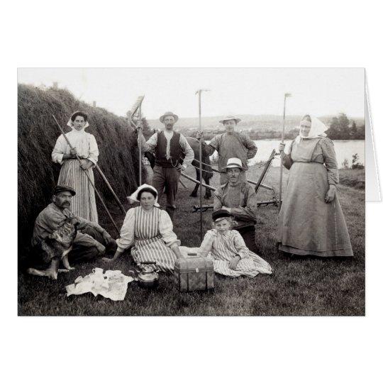 1905 Swedish Farmers Card