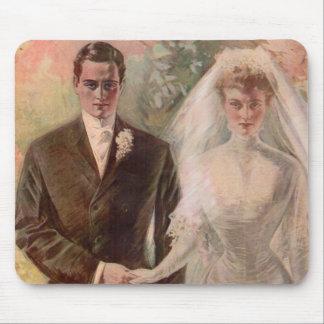 1906 Edwardian wedding Mouse Pad