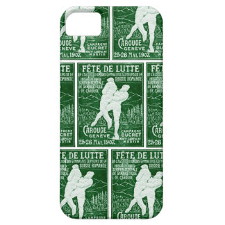 1907 Swiss Wrestling iPhone 5 Cover