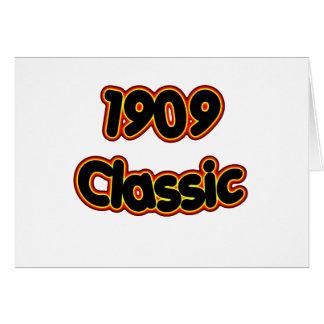 1909 Classic Card