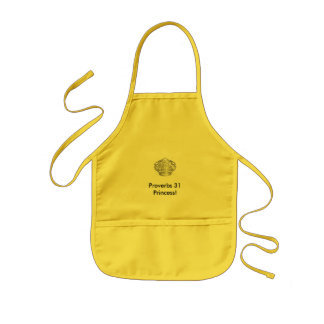 19101-Clipart-Picture-Of-A-Shiny-Large-Silver-R... Kids Apron