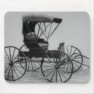 1910 Auto Seat Buggy Mouse Pad