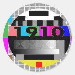 1910 CLASSIC ROUND STICKER