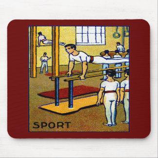 1910 Men's Gymnastics Mouse Pad