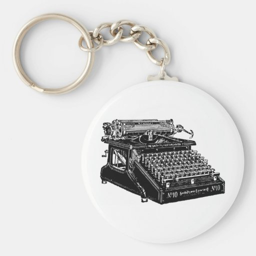 1910 Typewriter Keychain