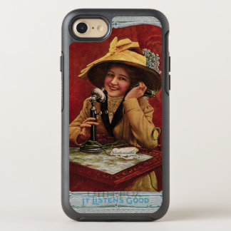 1910s Beauty on a Candlestick Phone Otterbox OtterBox Symmetry iPhone 8/7 Case