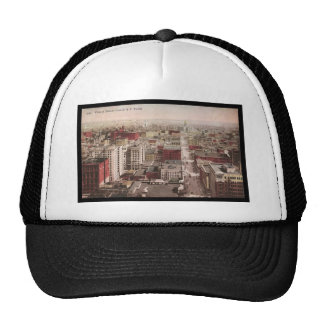 1910's View of Denver, CO from The D & F Tower Trucker Hats