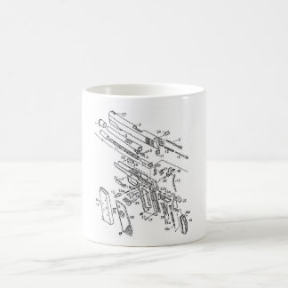 1911 parts coffee mug