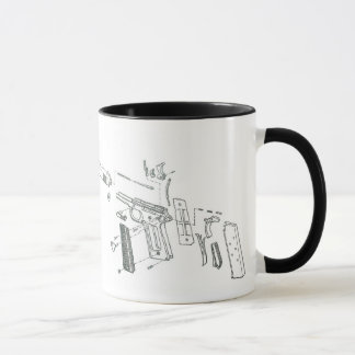 1911 Takedown Mug