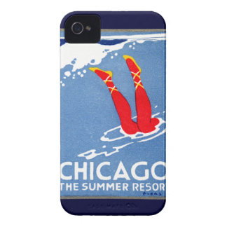 1912 Chicago, The Summer Resort iPhone 4 Case-Mate Cases