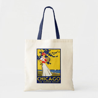 1912 Chicago, The Summer Resort Tote Bag