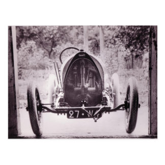 1913 BUGATTI POSTCARD