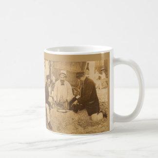 1914 fun on the beach RPPC Coffee Mug