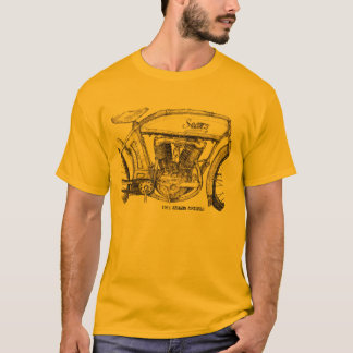1914 Sears Motorcycle Tee-Shirt T-Shirt