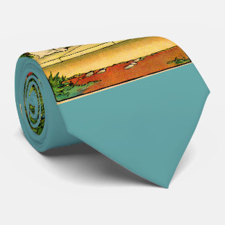 1914 two dogs being curious tie