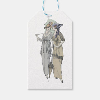 1914 vintage fashion gift tags