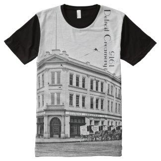 1915 - Detroit Creamery All-Over Print T-Shirt