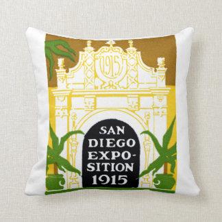 1915 San Diego Exposition Cushion