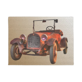 1915 VINTAGE CAR DOORMAT