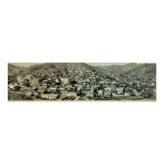 1916 Birds Eye View of Bisbee, AZ Vintage Photo Poster