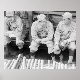 1916 Boston Baseball Posters