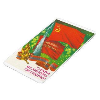 1917 October Socialist Revolution Magnet