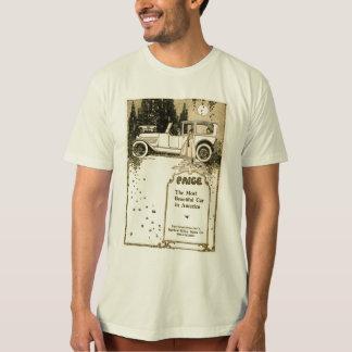 1917 Paige automobile vintage illustration T-Shirt