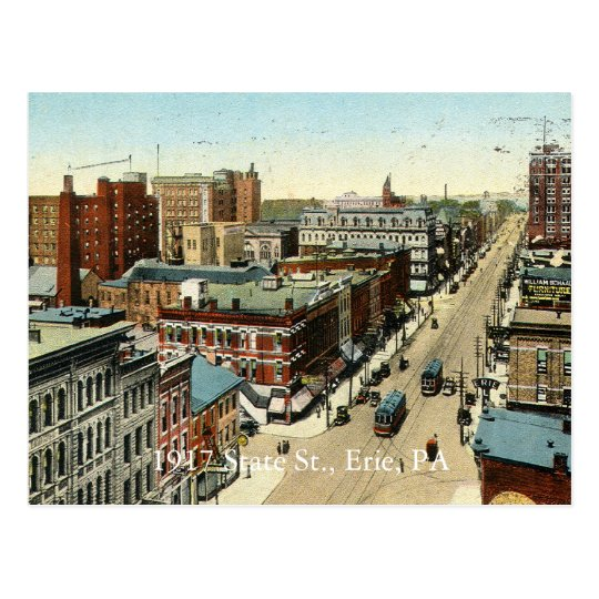 1917 State St., Erie, PA Postcard