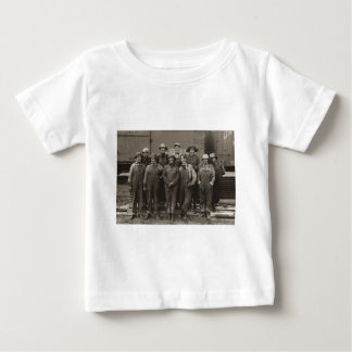 1918 Women Laborers Union Pacific Railroad Baby T-Shirt