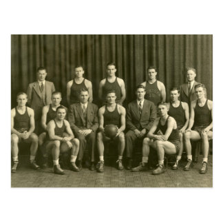 1919 Basketball Team Postcard