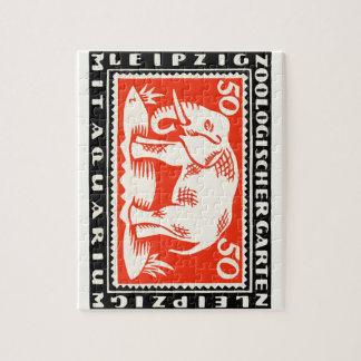 1919 Germany Leipzig Zoo Notgeld Banknote Jigsaw Puzzle