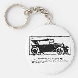 1919 Hupmobile Touring Car Advertisement Keychain