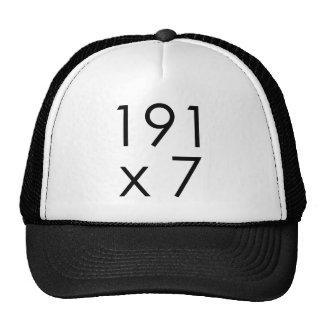 191 x 7 = 1337 Leet | Math Leet L33T Leetspeak Cap