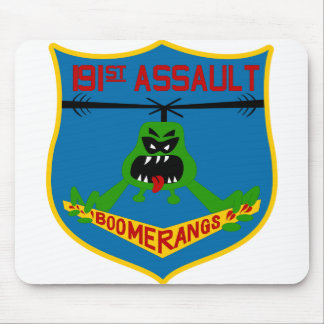 191st AHC Boomerangs Patch-only Mouse Pad