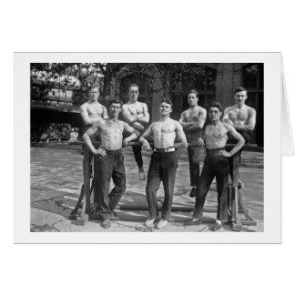 1920 Gymnasts Card