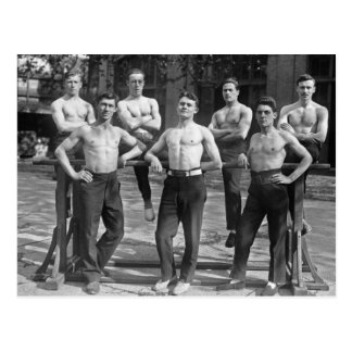 1920 Gymnasts Postcard