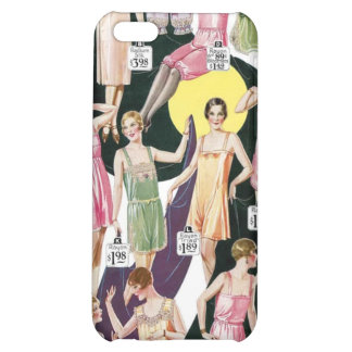 1920 Lustrous Lingerie Ad Label Speck Case iPhone4 Case For iPhone 5C