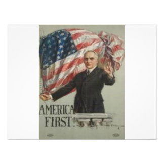 1920 Presidential Campaign Personalized Announcement