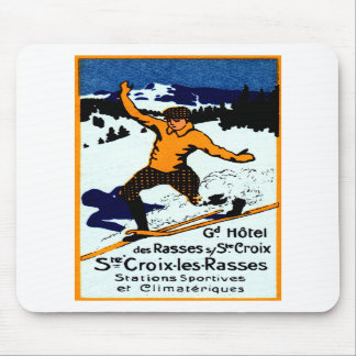 1920 St. Croix Winter Sports Poster Mouse Pad