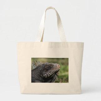 1920px-Iguanidae_head_from_Venezuela Large Tote Bag